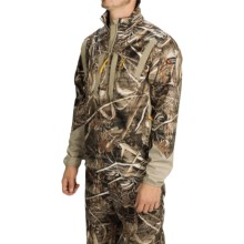 Browning Dirty Bird Soft Shell Pullover Jacket - Zip Neck (For Men) in Realtree Max 5 - Closeouts