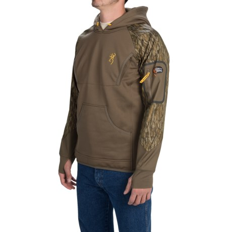 Browning Dirty Bird Timber Fleece Hoodie (For Men)