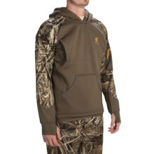 Browning Dirty Bird Timber Fleece Hoodie (For Men) in Realtree Max 5 - Closeouts