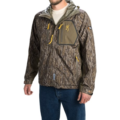 Browning Dirty Bird Timber Rain Jacket Waterproof (For Men)