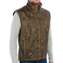 Browning Dirty Bird Ultra-Lite Vest (For Men) in Mossy Oak Bottomlands - Closeouts