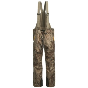Browning Dirty Bird Vari-Tech Half Bib Overalls - Waterproof, Insulated (For Big Men) in Mossy Oak Duck Blind