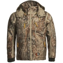 Browning Dirty Bird Vari-Tech Jacket - Waterproof, Insulated (For Big Men) in Mossy Oak Duck Blind - Closeouts