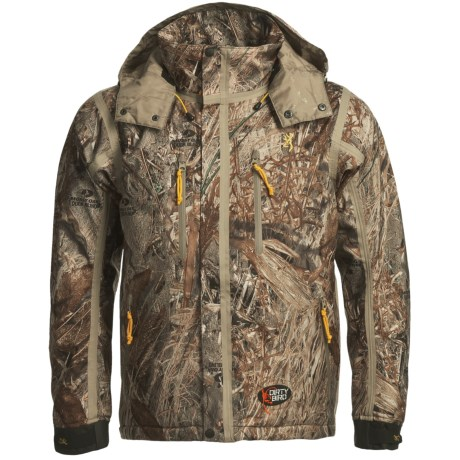 Browning Dirty Bird Vari-Tech Jacket - Waterproof, Insulated (For Big Men) in Realtree Max-4