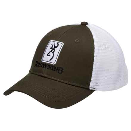 Browning Dry Creek Trucker Hat (For Men) in Loden - Closeouts