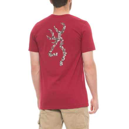 Browning Duck Band Buckmark Graphic T-Shirt - Short Sleeve (For Men) in Cardinal - Closeouts