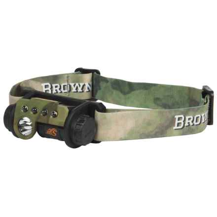 Browning Epic A-TACS Headlamp - 3V Lithium in Foliage Camo - Closeouts