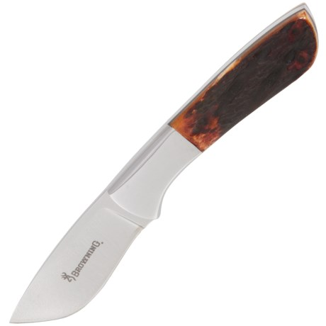 Browning Escalade Skinner Knife - Fixed Blade in See Photo