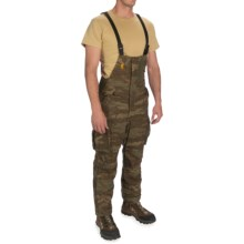 Browning Full Curl Bib Overalls - Wool (For Big Men) in All Terrain - Closeouts
