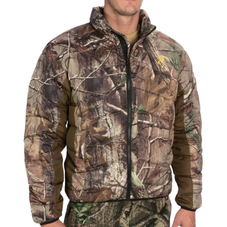 Browning Goose Down Camo Jacket - 700 Fill Power (For Big Men) in Realtree Ap