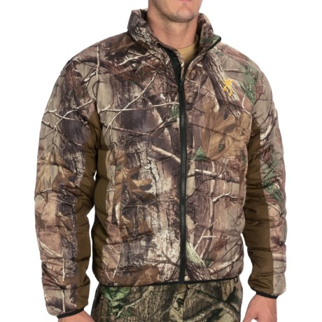 Browning Goose Down Camo Jacket - 700 Fill Power (For Men) in Realtree Ap
