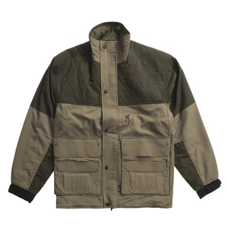 Browning Gore-Tex® Upland Hunting Jacket - Waterproof (For Men) in Khaki/Loden