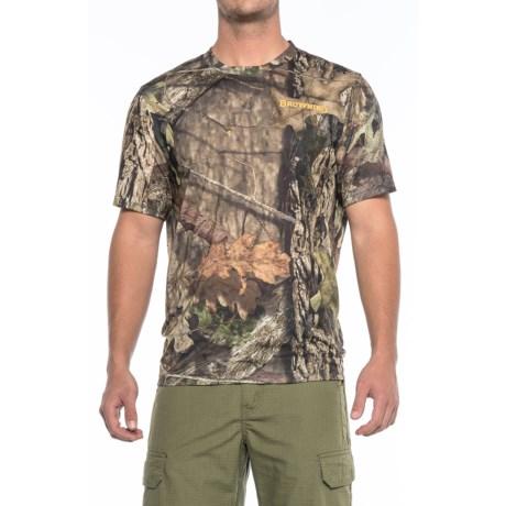 Browning Graffiti T-Shirt - Short Sleeve (For Men) in Mossy Oak Break-Up Country