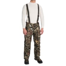 Browning Hell's Canyon Nitro Half Bib Overalls - Waterproof (For Big Men) in Mossy Oak Infinity - Closeouts