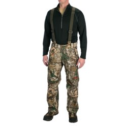 Browning Hell's Canyon Nitro Half Bib Overalls - Waterproof (For Big Men) in Realtree Xtra