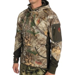 Browning Hell's Canyon Sweatshirt - Fleece (For Men) in Mossy Oak Infinity