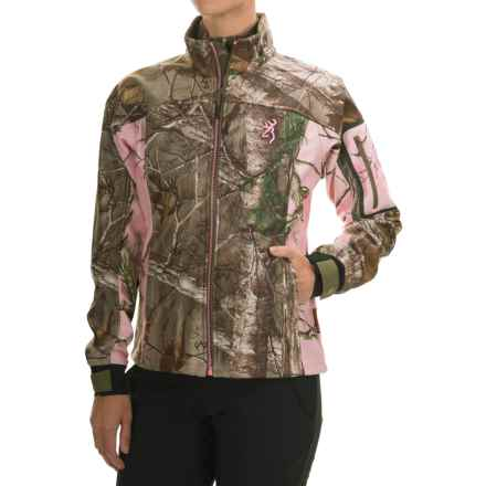 Browning Hells Belles Jacket - Soft Shell (For Women) in Realtree Xtra - Closeouts
