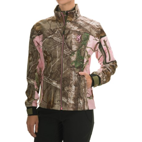 Browning Hells Belles Jacket - Soft Shell (For Women)