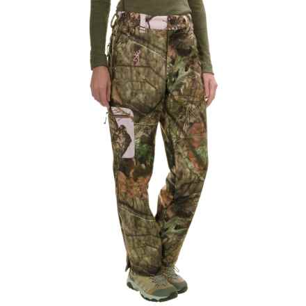 Browning Hells Belles Pants - Soft Shell (For Women) in Mossy Oak Break-Up Country - Closeouts