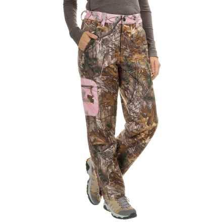 Browning Hells Belles Pants - Soft Shell (For Women) in Realtree Xtra - Closeouts