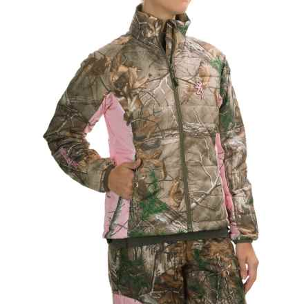 Browning Hells Belles PrimaLoft® Jacket - Insulated (For Women) in Realtree Xtra - Closeouts