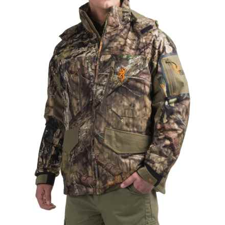 Browning Hell's Canyon 4-in-1 PrimaLoft® Parka - Waterproof, Insulated (For Men) in Mossy Oak Break Up Country - Closeouts