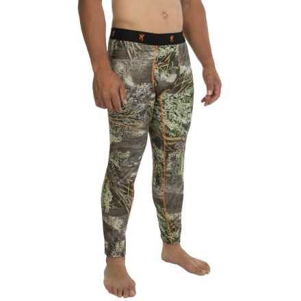 Browning Hell's Canyon Base Layer Bottoms - Midweight (For Men) in Realtree Max 1 - Closeouts