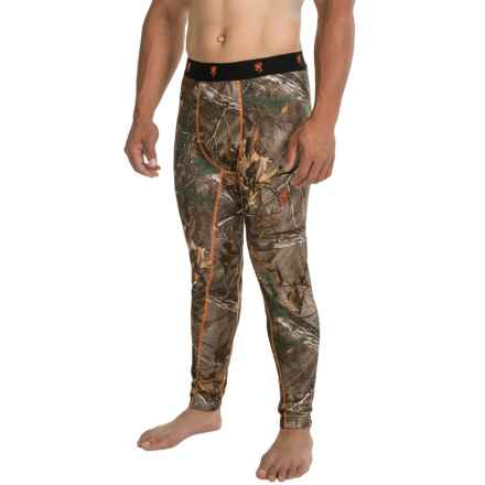 Browning Hell's Canyon Base Layer Bottoms - Midweight (For Men) in Realtree Xtra - Closeouts