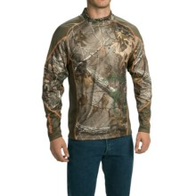 Browning Hells Canyon Base Layer Top - Midweight, Long Sleeve (For Men) in Realtree Xtra - Closeouts