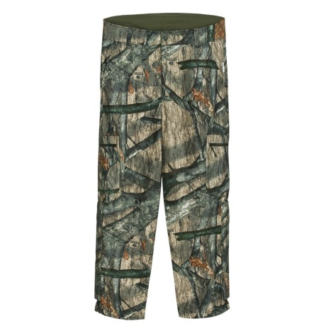 Browning Hells Canyon Camo Hunting Pants - Windproof, Fleece Lined (For Big Men) in Realtree Ap