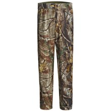Browning Hells Canyon Camo Hunting Pants - Windproof, Fleece Lined (For Big Men) in Realtree Ap - Closeouts