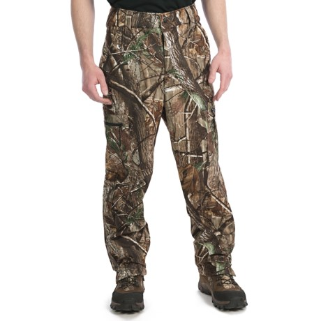Browning Hells Canyon Camo Hunting Pants - Windproof, Fleece Lined (For Men) in Realtree Ap