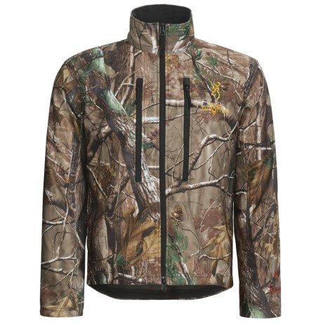 Browning Hells Canyon Full Throttle Camo Jacket (For Men) in Realtree Ap