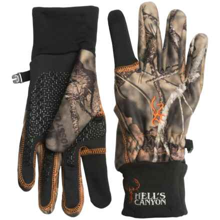 Browning Hell's Canyon Gloves (For Men) in Mossy Oak Break-Up Country - Closeouts