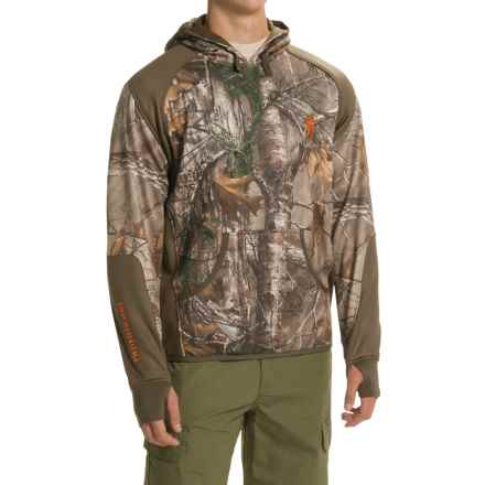 Browning Hell's Canyon High-Performance Fleece Hoodie (For Men) in Realtree Xtra - Closeouts