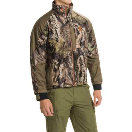 Browning Hell's Canyon Jacket - Soft Shell (For Big Men) in Mossy Oak Break-Up Country - Closeouts