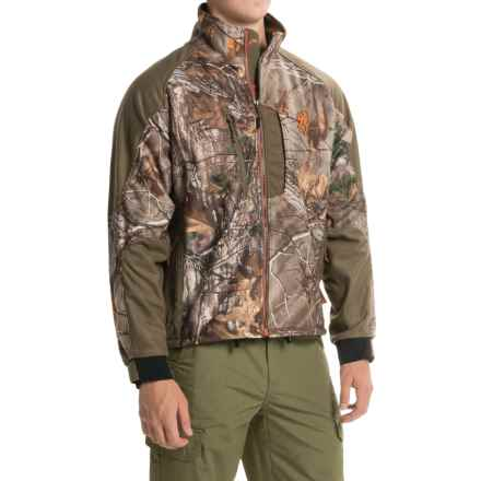 Browning Hell's Canyon Jacket - Soft Shell (For Big Men) in Realtree Xtra - Closeouts