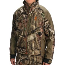 Browning Hells Canyon Jacket - Soft Shell (For Men) in Mossy Oak Infinity - Closeouts