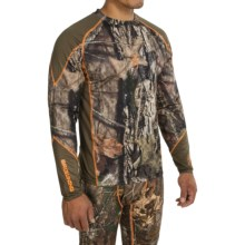 Browning Hell's Canyon Lightweight Base Layer Top - Long Sleeve (For Big Men) in Mossy Oak Break-Up Country - Closeouts