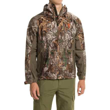 Browning Hell's Canyon Packable Rain Jacket (For Men) in Realtree Xtra - Closeouts