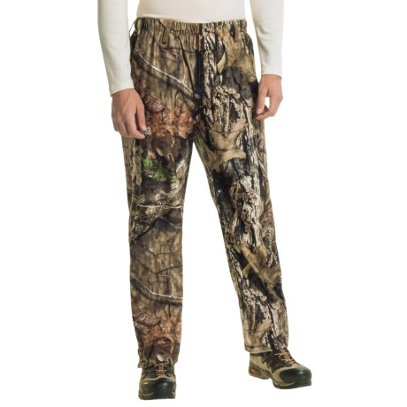 Browning Hell's Canyon Packable Rain Pants - Waterproof (For Big Men) in Mossy Oak Break-Up Country
