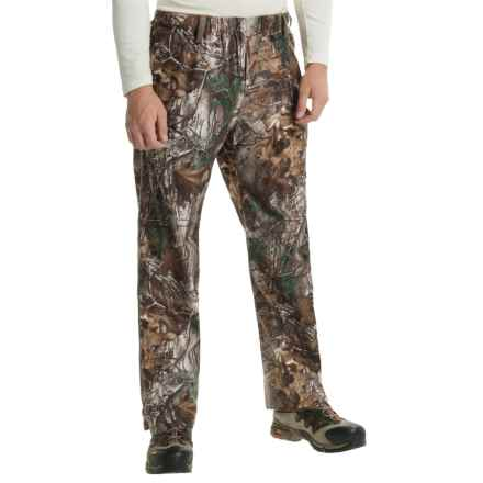 Browning Hell's Canyon Packable Rain Pants - Waterproof (For Big Men) in Realtree Xtra - Closeouts