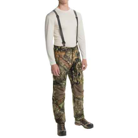 Browning Hell's Canyon PrimaLoft® Bib Overalls - Waterproof, Insulated (For Big Men) in Mossy Oak Break-Up Country - Closeouts