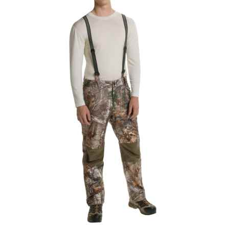 Browning Hell's Canyon PrimaLoft® Bib Overalls - Waterproof, Insulated (For Men) in Realtree Xtra - Closeouts