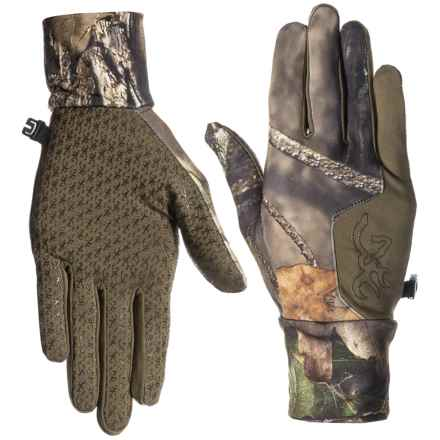 Browning Hell's Canyon Riser Liner Gloves (For Men) in Mossy Oak Break Up Country - Closeouts