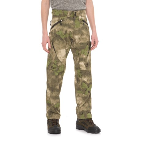 Browning Hell's Canyon Speed Backcountry Pants (For Men) in Foliage/Green
