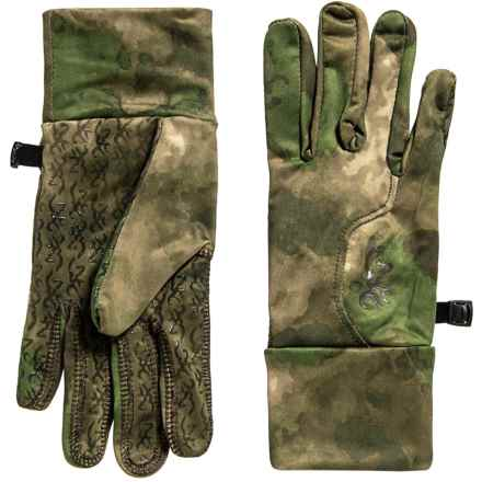 Browning Hell's Canyon Speed Phase Liner Gloves (For Men) in Foliage/Green - Closeouts