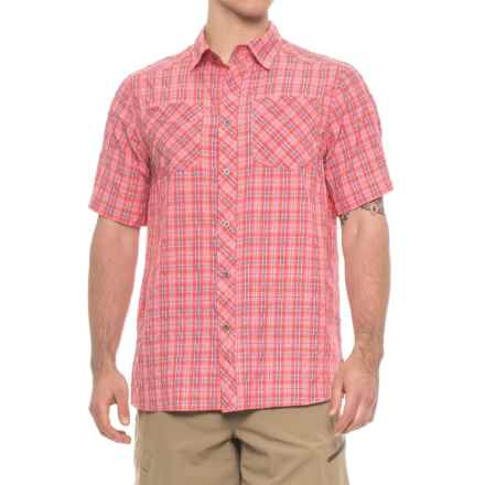 Browning Heritage Alden Shirt - Short Sleeve (For Men and Big Men) in Formula One - Closeouts