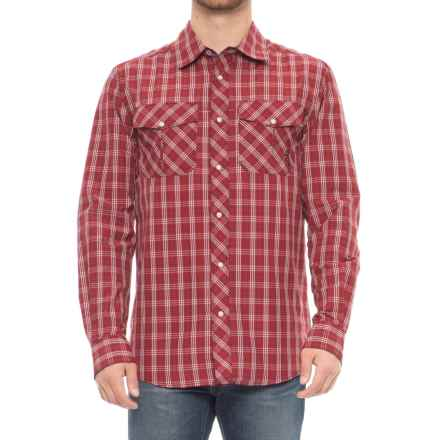 Browning Heritage Gunsight Shirt - Long Sleeve (For Men) in Chili Pepper - Closeouts