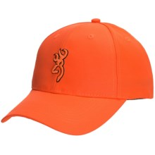 Browning Hunting Cap - Blaze Orange (For Kids) in Blaze Orange/Buckmark - Closeouts